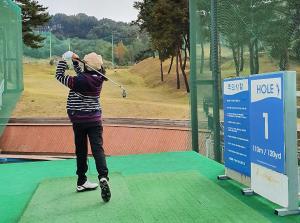 청주 행정초, 골프 체험 실시